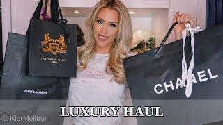 3 Handbag Luxury Haul! (Chanel, YSL, etc.)