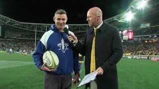Wallabies Fan Kicks to Win a Discovery Sport | Land Rover Australia