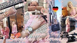 ???????? VLOG 3 - LUXURY SHOPPING IN GERMANY ???????? HERMES, CHANEL, LOUIS VUITTON, GUCCI, ROLEX &