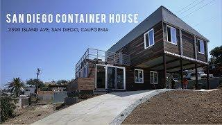 San Diego 670K Luxury Shipping Container Home by GBO Homes | 2590 Island Ave, San Diego, California