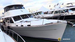 2019 Grand Banks Yachts GB60 Luxury Yacht - Walkthrough - 2019 Miami Yacht Show
