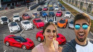 Omg! Lana Rose Car Collection 2018 ★ Luxury Car Collection ★ Ferrari ★ Lamborghini ★Audi Car