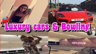 Luxury cars and bowling | Sprinkleofalicex