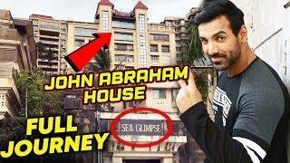 John Abraham's LUXURY HOUSE In Mumbai | Full Journey Video