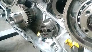 Toyota innova engine assembling