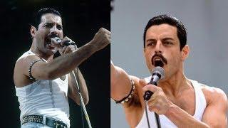 Bohemian Rhapsody Cast vs Real Life