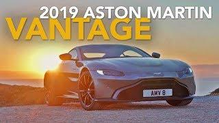 2019 Aston Martin Vantage Review - First Drive with Craig Cole
