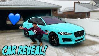 THE OFFICIAL REVEAL OF MY NEW CAR WRAP!!!