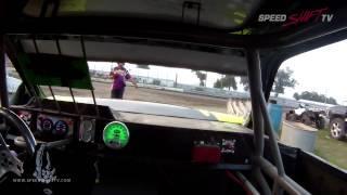Mathias Lux Wreck In Car | Buena Vista Raceway 7/30/14