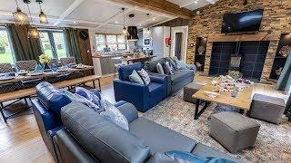 Brand New Unique Sherwood Luxury Holiday Lodge with Four Bedrooms