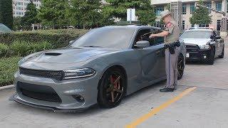 POLICE USE ILLEGAL INTIMIDATION TACTICS ON MUSCLE CAR OWNERS AT CARS AND COFFEE HOUSTON!!!