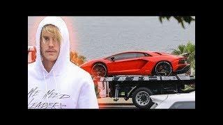 EXCLUSIVE   Justin Bieber Gets $500K Lamborghini Aventador Delivered To His Luxury Beach Hotel