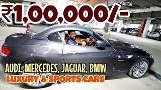 LUXURY AND SPORTS CARS STARTING 1 Lakh Only ????   AUDI, MERCEDES, PORSCHE, JAGUAR   SPEEDY TOYZ