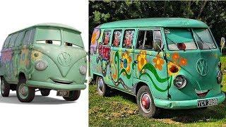 Cars Characters in Real Life 2019