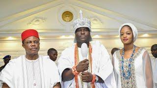 Ooni Of Ife Pamper His New Queen As He Gift Her A Mansion & Two Luxury Cars