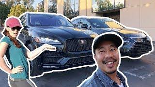 We Both Got New Cars!! Jaguar F-Pace + Lexus NX 300