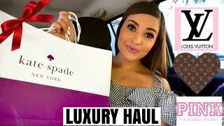 VLOG♡| HUGE Luxury Haul!