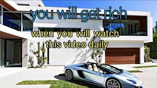 Millionaire luxury lifestyle | Indian money visualization - how to attract money and luxury life