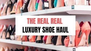 The Real Real Luxury Shoe Haul