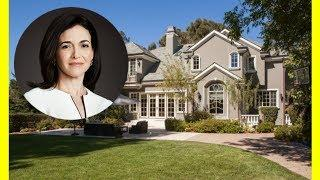 Sheryl Sandberg House Tour $9250000 Atherton Mansion Luxury Lifestyle 2018