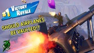 Should Airplanes be *VAULTED*!? - Fortnite