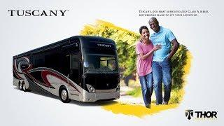 Experience the Luxury of the 2019 Tuscany Class A Diesel Motorhome from Thor Motor Coach
