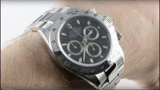 Rolex Cosmograph Daytona (Steel Bezel) 116520 Luxury Watch Review