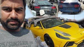 Buying Ferrari from Scrap Only In Dubai