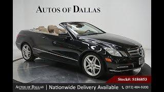Used 2013 Mercedes-Benz E350 Convertible at Autos of Dallas