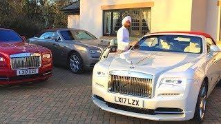 Reuben Singh Car Collection - Entrepreneur - 16 Rolls Royce