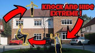 KNOCK AND HIDE EXTREME PRANK ON LUXURY MANSIONS