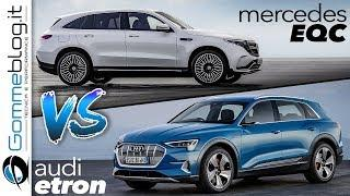 Audi e-tron VS Mercedes EQC | Full Electric Luxury SUV Battle - WHO WIN ?