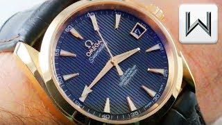 Omega Seamaster Aqua Terra 150m Sedna Gold (231.53.39.21.06.001) Luxury Watch Review