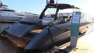 2019 Riva 56 Rivale Luxury Yacht - Deck and Interior Walkaround - 2018 Cannes Yachting Festival
