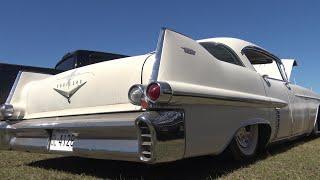 OG 1957 Cadillac Hardtop Deville #bagged #57Caddy survivor Texas luxury car Lone Star Throwdown 2019