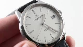 Jaeger-LeCoultre Geophysic True Second Q8018420 Luxury Watch Review