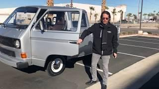 1986 Volkswagen Doka truck. At Celebrity Cars Las Vegas