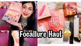 Focallure Beauty Makeup Haul India 2019 | Focallure Makeup Haul | Luxury Makeup ? | Nidhi Chaudhary