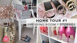 MY DRESSING ROOM TOUR + HOW I STORE LUXURY!   Sophie Shohet Home Tour #1