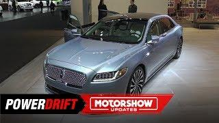 Lincoln Continental Coach : Luxury yacht on wheels : 2019 Detroit Auto Show : PowerDrift