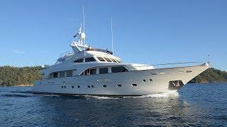 SUNRISE 34 m luxury Motor Yacht For Sale interior tour