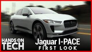 2019 Jaguar I-PACE First Look - All-Electric Luxury SUV
