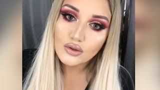 Impressive Makeup Transformations   -  The Power of Makeup 2019  -  Best Makeup  -  10