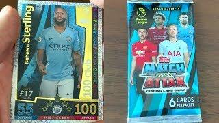 Match Attax English Premier League Pack Opening