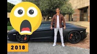 Cristiano Ronaldo's supercar collection * 2018 [HD]