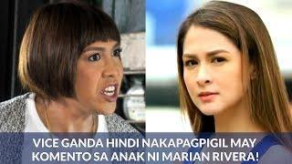 Vice Ganda HINDI NAKAPAGPIGIL May KOMENTO diumano sa Anak ni Marian Rivera!