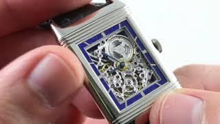 Jaeger-LeCoultre Grande Reverso Skeleton Enamel Limited Edition Q2783540 Luxury Watch Review