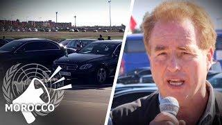 Luxury Cars Fill UN Migration Conference Lot   David Menzies