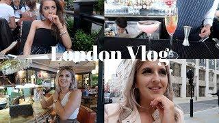 London Vlog | Luxury Shopping, Cocktails & Photo Booth