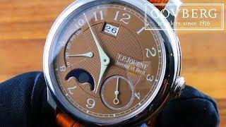 F.P. Journe Octa Automatique Lune Havana Luxury Watch Review